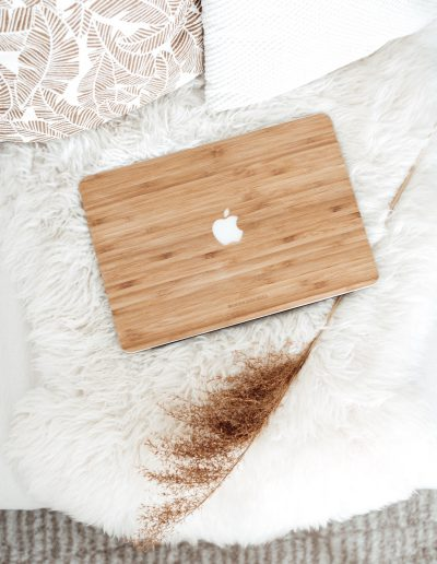Macbook Cover von -Woodcessoires-