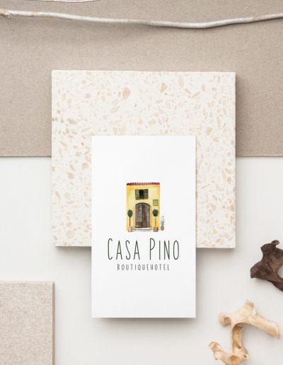 Casa Pino Visitenkarte